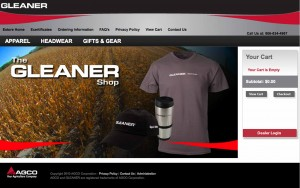 Shop Gleaner Website