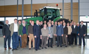 DLG Expert Committee visits Fendt factory