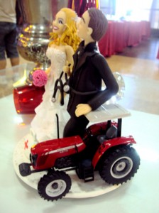 Massey Ferguson Tractor Towed Wedding in Brazil