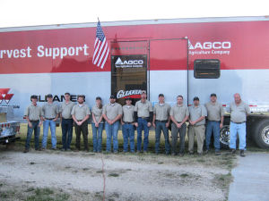 AGCO Parts Tech Van Employees
