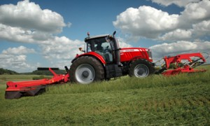 Massey Ferguson 7600 Series High Horespower Row Crop Tractor
