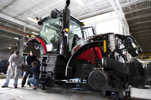 AGCO Jackson: Engineers building first pilot unit (Massey Ferguson 8600 Series)