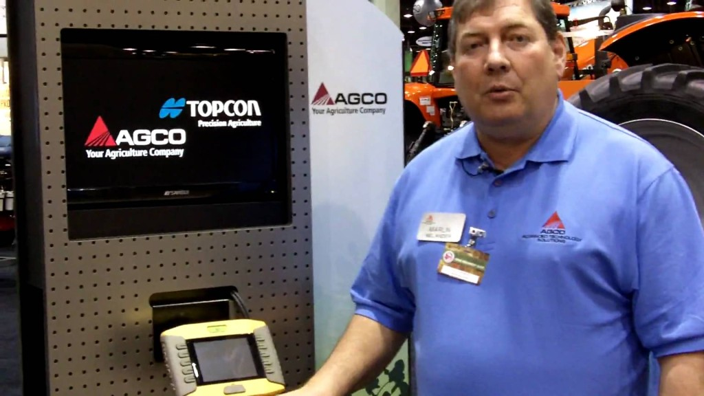 AGCO's Topcon SYSTEM 150 Assisted Steering