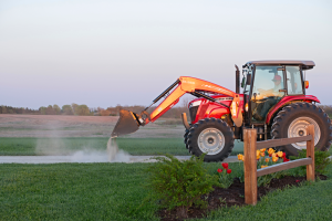Massey Ferguson equipment helps the Mellons meet their typically tight schedule