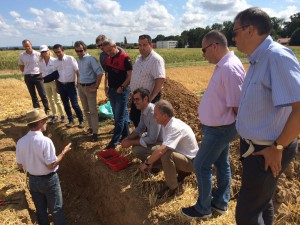 Soil and Agronomy classroom training on July 15-17 near the LaSalle Institute's Beauvais, France campus.