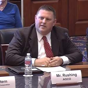 AGCO Testifies on Big Data in Agriculture