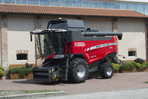 MF Beta 7370, the 67,000th combine harvester to be manufactured at the Breganze plant in Italy