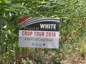 Crop Tour Sign