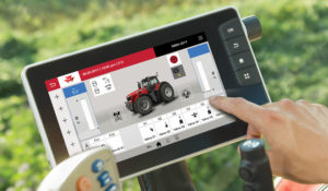 Massey Ferguson Datatronic 5 puts Tablet Technology in the Cab