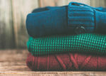 Clothing, like sweaters, can be made from biomass using polymers such as DuPont's Sorona.