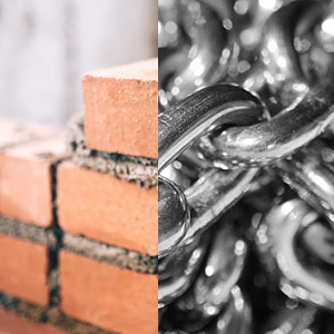 Bricks & Metal Chains