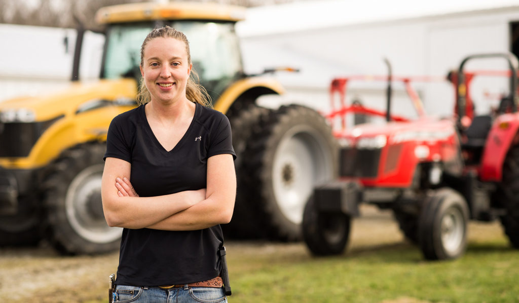 From Challenger and Massey Ferguson tractors, to planters, service and sprayers, this farmer says she's as committed to AGCO as they are to her family farm.