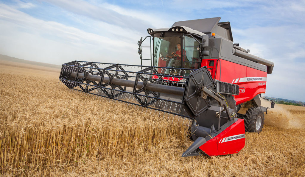 MF Activa S 7345 ParaLevel combine harvester