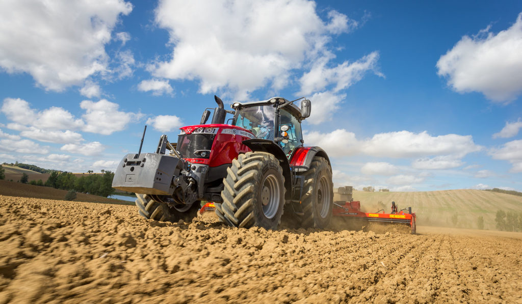 MF 8735 S launch at Agritechnica