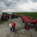 Brian and Channon Ussary know that Massey Ferguson vintage tractors stand the test of time.