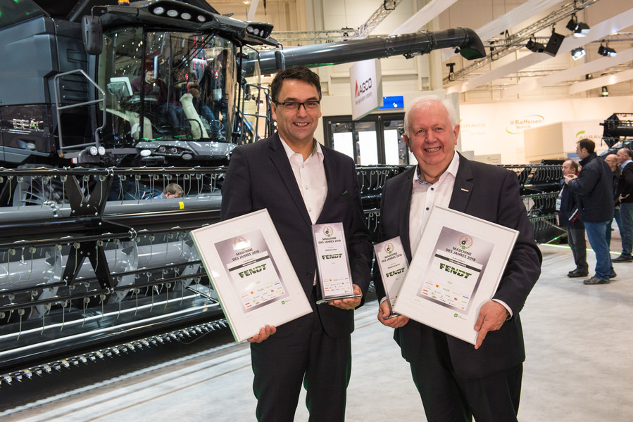 AGCO receives 17 awards at Agritechnica 2017