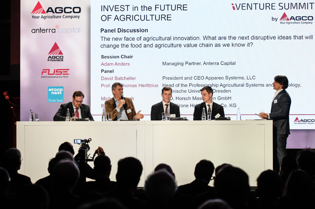 Panel led by Anterra Capital at AGCO iVenture Summit