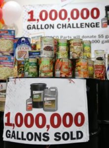 AGCO Parts Million Gallon Challenge