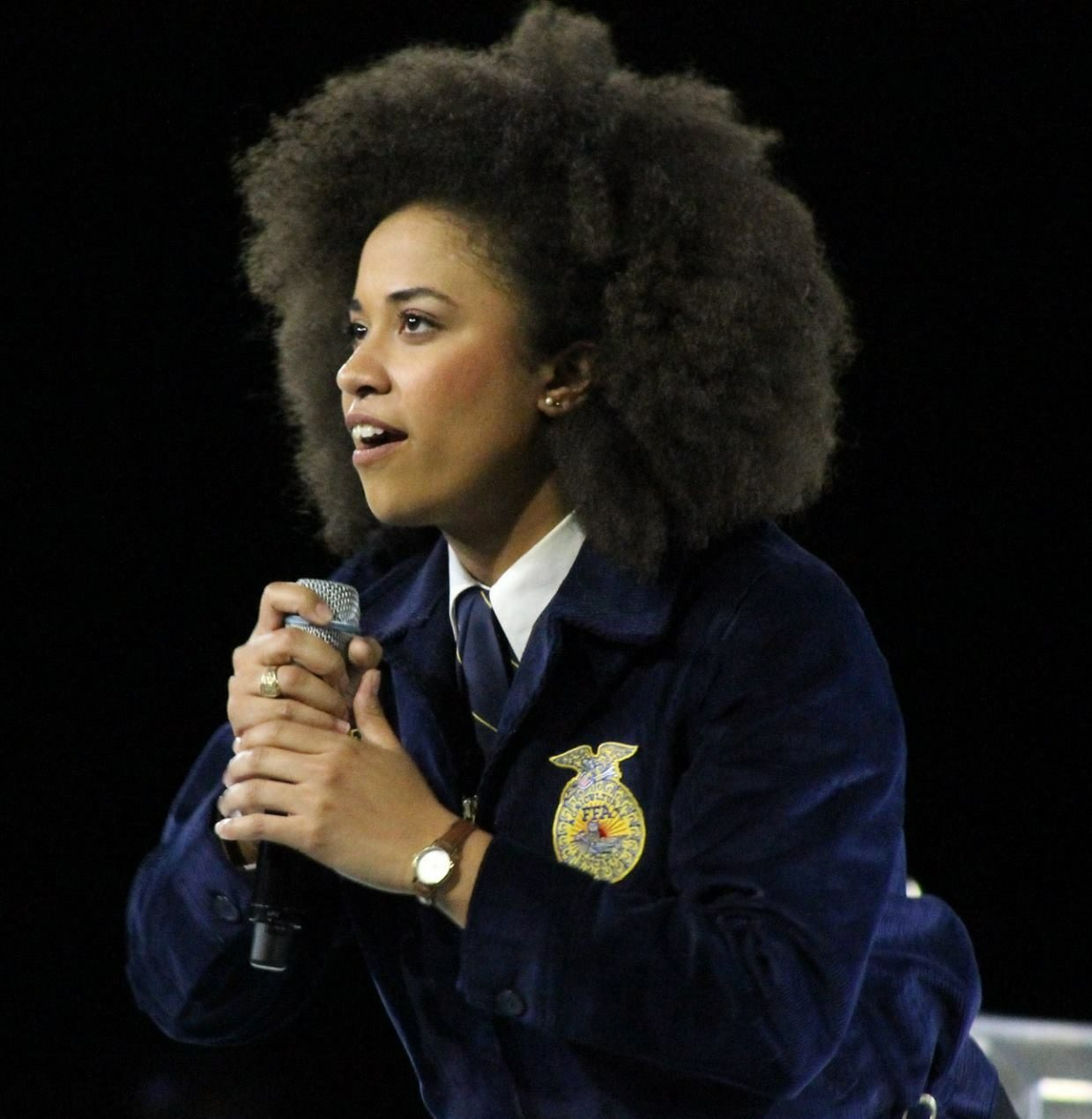 Breanna Holbert, President, National FFA Organization