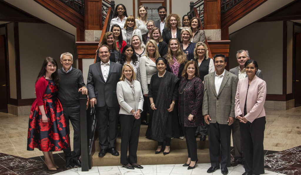 AGWN and members of the board posed for the Annual Kickoff and Power Lunch