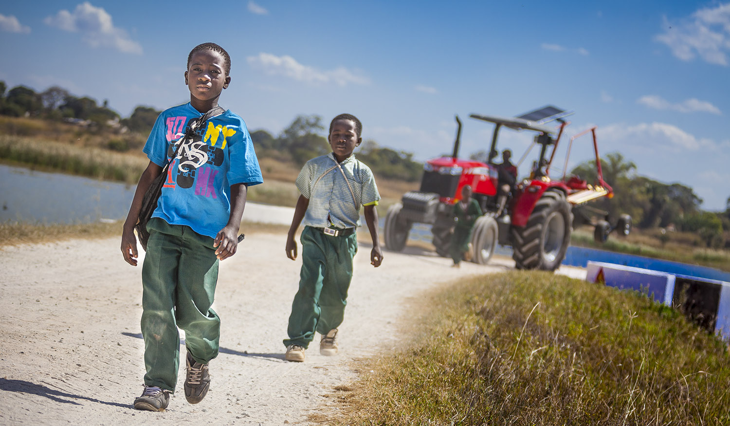AGCO Zambia Farm - Youth In Agriculture