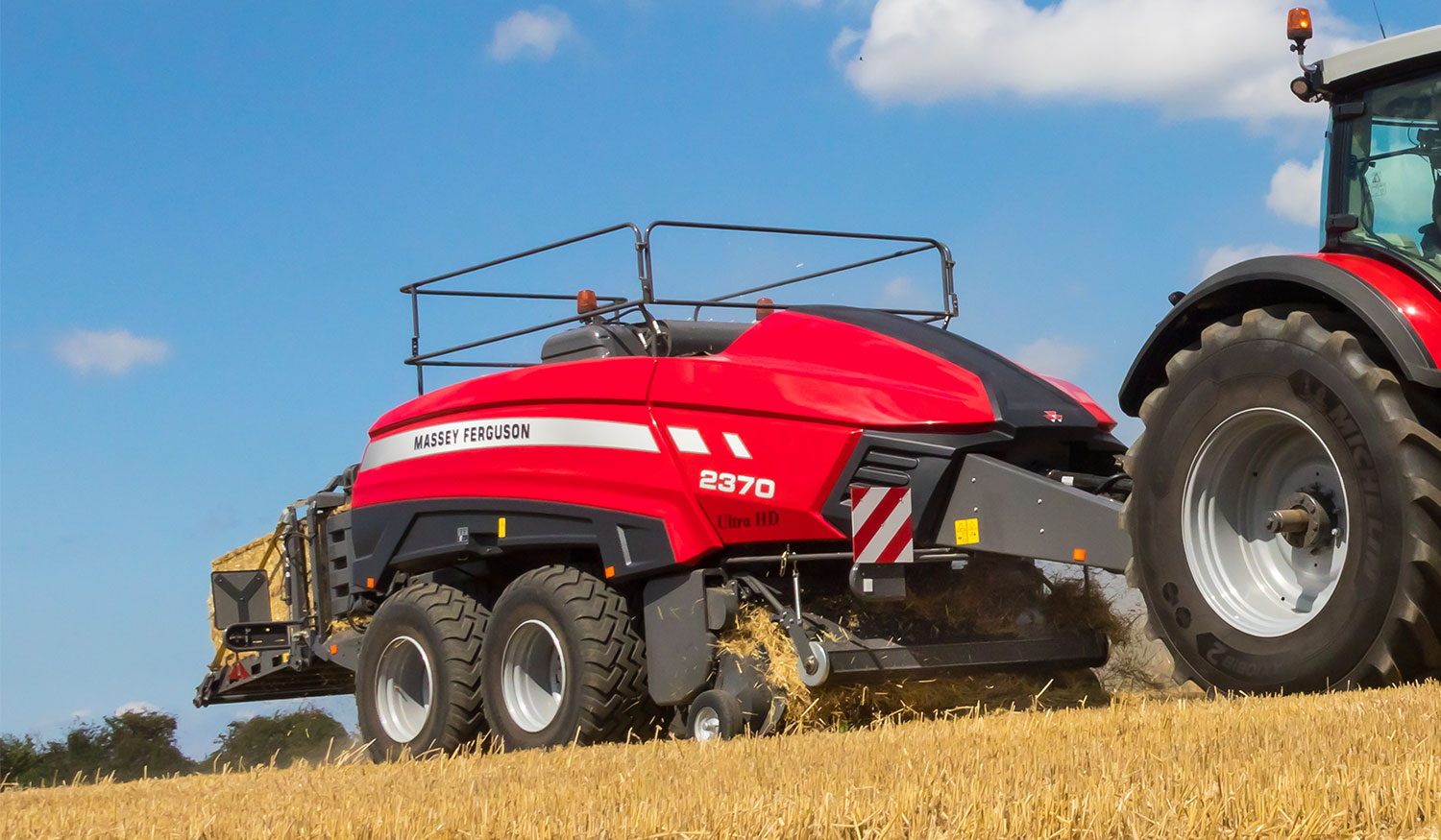 Massey Ferguson MF 2370 Ultra HD baler is in a class of its own - AGCO Blog