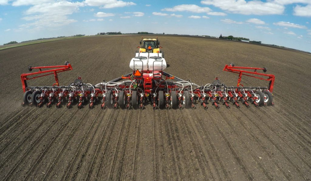 The White Planters VE Series provides advanced technology for agronomic management