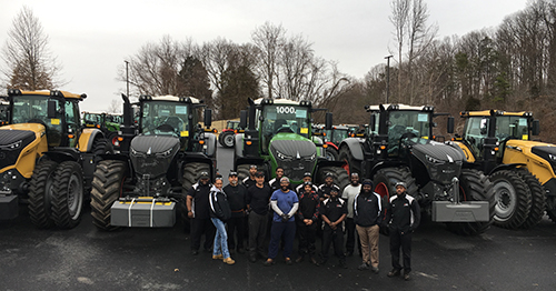 The 1000 Fendt 1000 at AGCO in Edgewood, Maryland, U.S.